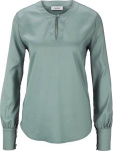 Zielona bluzka Heine z długim rękawem
