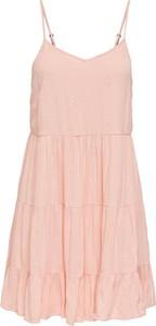 Sukienka Only trapezowa z dekoltem w kształcie litery v w stylu casual