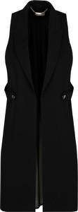 Czarna kamizelka Liu-Jo długa w stylu casual