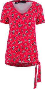 Czerwony t-shirt bonprix bpc bonprix collection
