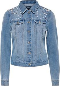 Niebieska kurtka Only krótka