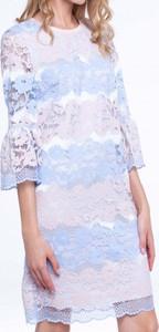 Sukienka L'AF z długim rękawem mini