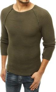 Zielony sweter Dstreet z bawełny