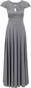 Sukienka POTIS & VERSO wyszczuplająca z krótkim rękawem