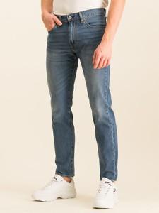 Granatowe jeansy Levis
