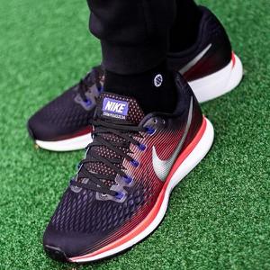 Buty sportowe Nike w sportowym stylu sznurowane zoom