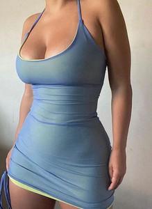 Sukienka Sandbella w stylu casual na ramiączkach