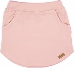 Różowa spódniczka dziewczęca Nicol z bawełny