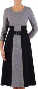 Sukienka POLSKA z długim rękawem midi