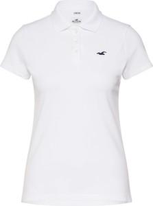 Bluzka Hollister Co. z dżerseju w stylu casual z krótkim rękawem