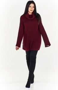 Czerwony sweter Pao