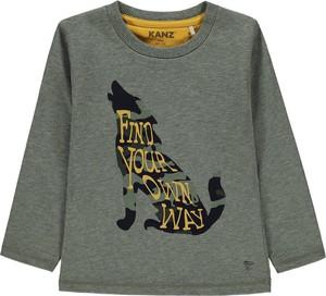Bluzka dziecięca Kanz z bawełny dla chłopców