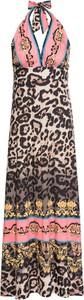 Sukienka bonprix BODYFLIRT boutique bez rękawów w stylu vintage z dekoltem w kształcie litery v