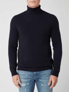 Czarny sweter Joop! z golfem z kaszmiru