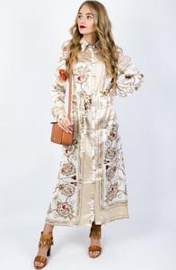 Sukienka Olika z długim rękawem