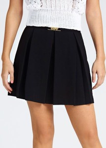 Czarna spódnica Guess mini w stylu casual