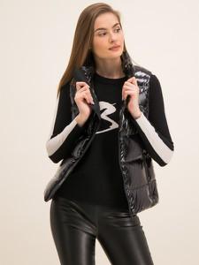Czarna kamizelka Michael Kors w stylu casual