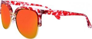 Czerwone okulary damskie Clueless