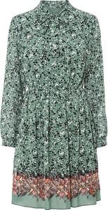 Zielona sukienka bonprix w stylu casual