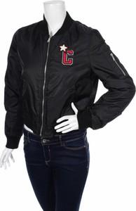 Czarna kurtka Carlsberg w stylu casual