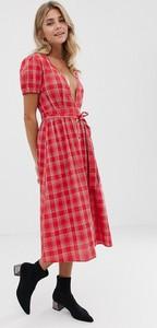 Czerwona sukienka Influence