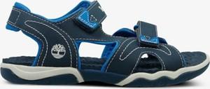 Granatowe buty dziecięce letnie Timberland na rzepy