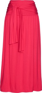 Czerwona spódnica bonprix bpc selection maxi