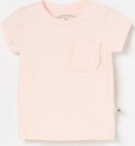 Różowa koszulka dziecięca Reserved