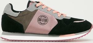 Buty sportowe Big Star z płaską podeszwą z zamszu