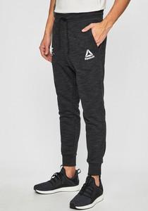 Czarne spodnie sportowe Reebok