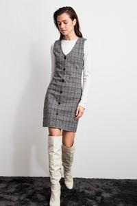 Sukienka Trendyol szmizjerka w stylu casual