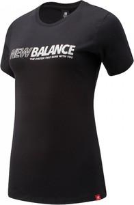 Bluzka New Balance z dżerseju w sportowym stylu