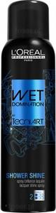 L'Oreal Paris LOREAL Wet Domination SHOWER SHINE lakier w sprayu efekt mokrych włosów 160ml