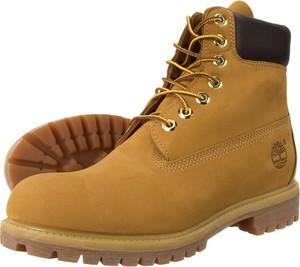 Brązowe buty Timberland