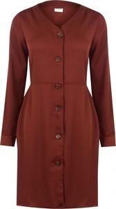 Czerwona sukienka JDY w stylu casual