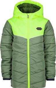 Zielona kurtka dziecięca Vingino dla chłopców