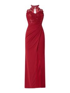 Czerwona sukienka Lipsy maxi bez rękawów