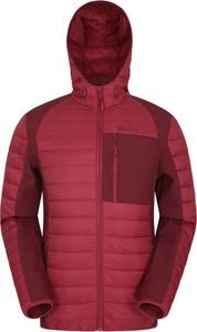 Czerwona kurtka Mountain Warehouse krótka z tkaniny