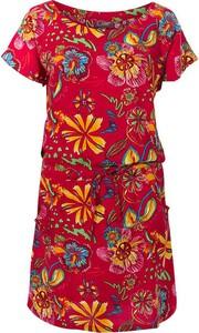 Sukienka Coline z okrągłym dekoltem mini w stylu casual