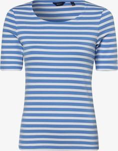 Niebieski t-shirt Gant