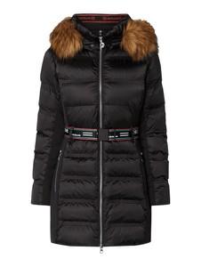 Czarny płaszcz Sportalm