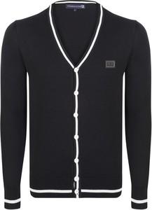 Granatowy sweter Giorgio Di Mare w stylu casual