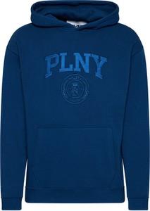 Niebieska bluza Plny Textylia w młodzieżowym stylu
