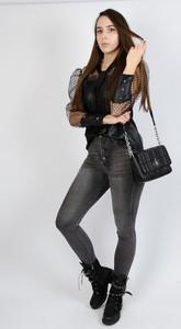 Spodnie Olika w stylu casual z jeansu