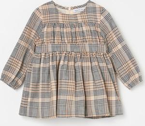 Sukienka dziewczęca Reserved w krateczkę