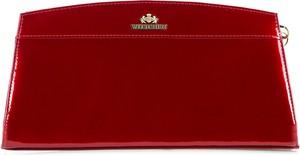 Czerwona torebka Wittchen ze skóry do ręki mała