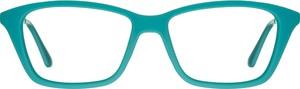 Turkusowe okulary damskie Solano