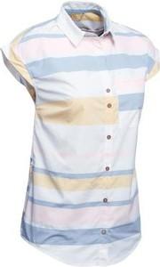 Koszula Forclaz w stylu casual z krótkim rękawem z kołnierzykiem