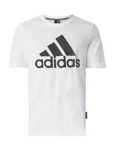 T-shirt Adidas Performance z bawełny z krótkim rękawem