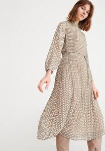 Sukienka Reserved z długim rękawem rozkloszowana